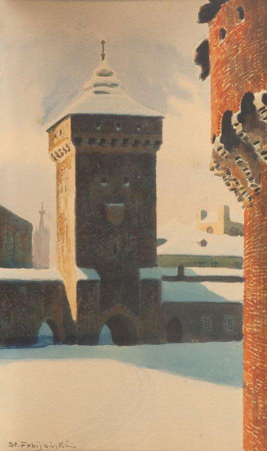 24: Stanislaw Fabijanski (1865 Paryz - 1947 Krakow) Bra