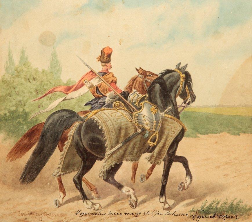 73: Juliusz Kossak (1824 Nowy Wisnicz - 1899 Krakow) Je