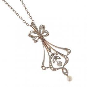 13: Edwardian-style pendant, beginning of XX th century