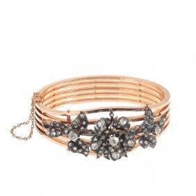 83: bracelet XIX th century, Western Europe gold  ~ 0,7