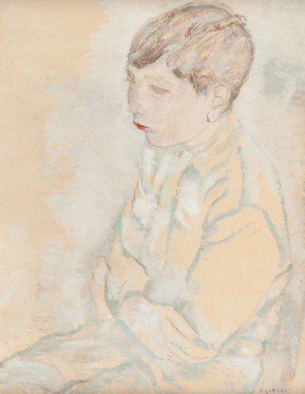 1: Leopold Gottlieb  (1879 Drohobycz - 1934 Paris) Krol