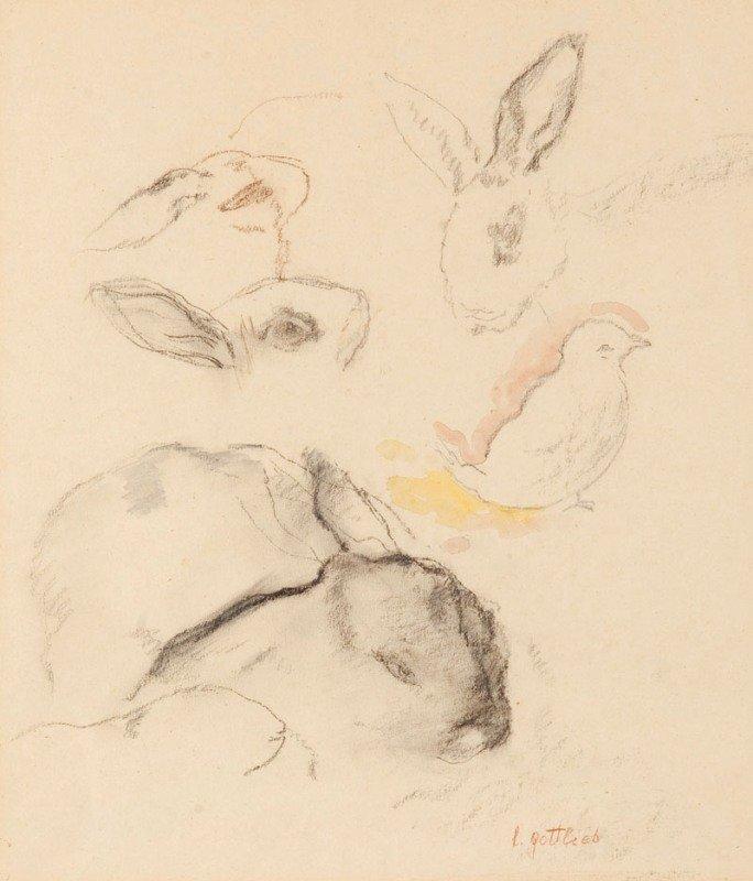 2: Leopold Gottlieb  (1879 Drohobycz - 1934 Paris) Sied
