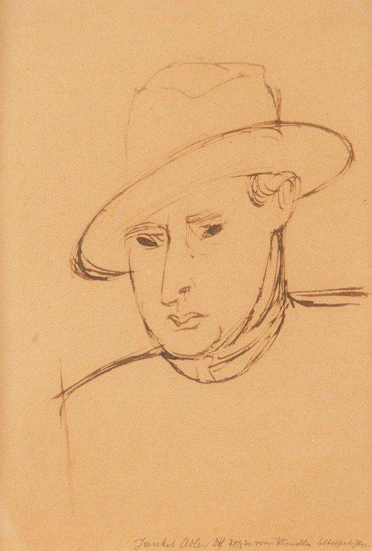 4: Jankiel Adler  (1895 Tuszyn near Lodzi - 1949 Aldbou
