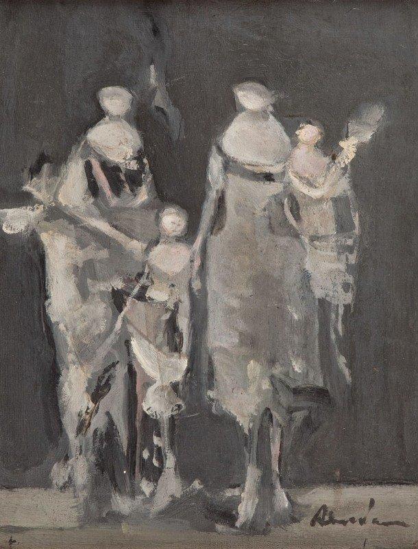 8: Alfred Aberdam (1894 Lwow - 1963 Paris) Grupa postac