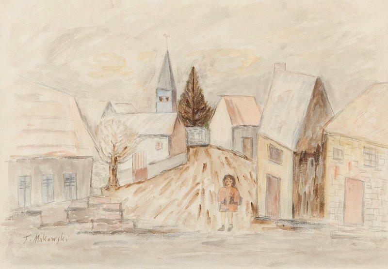 10: Tadeusz Jozef Makowski (1882 Oswiecim - 1932 Paris)