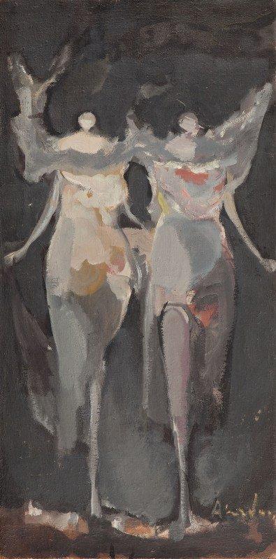 "15: Alfred Aberdam (1894 Lwow - 1963 Paris) ""Anioly"", 1"