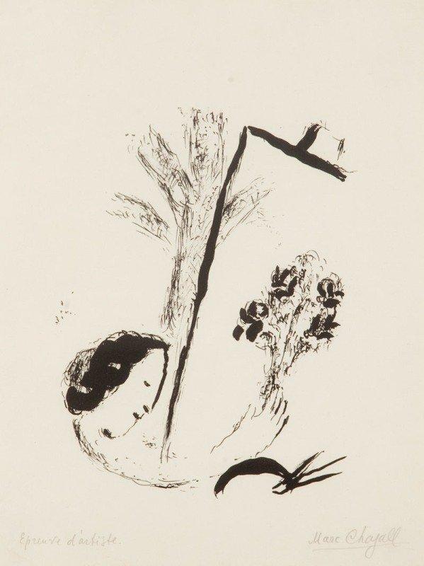 24: Marc Chagall  (1887 Lozna near Witebska - 1985 Sain