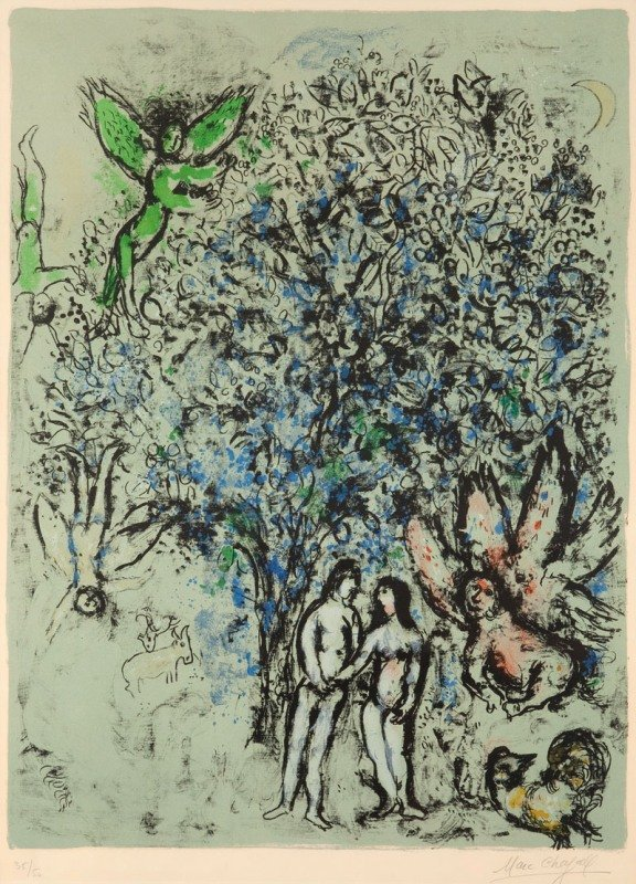 25: Marc Chagall  (1887 Lozna near Witebska - 1985 Sain