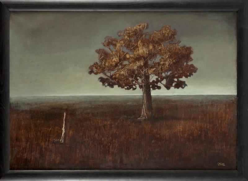 70: Grzegorz Klimek (b. 1987 , Klobuck) Drzewo, 2009  o