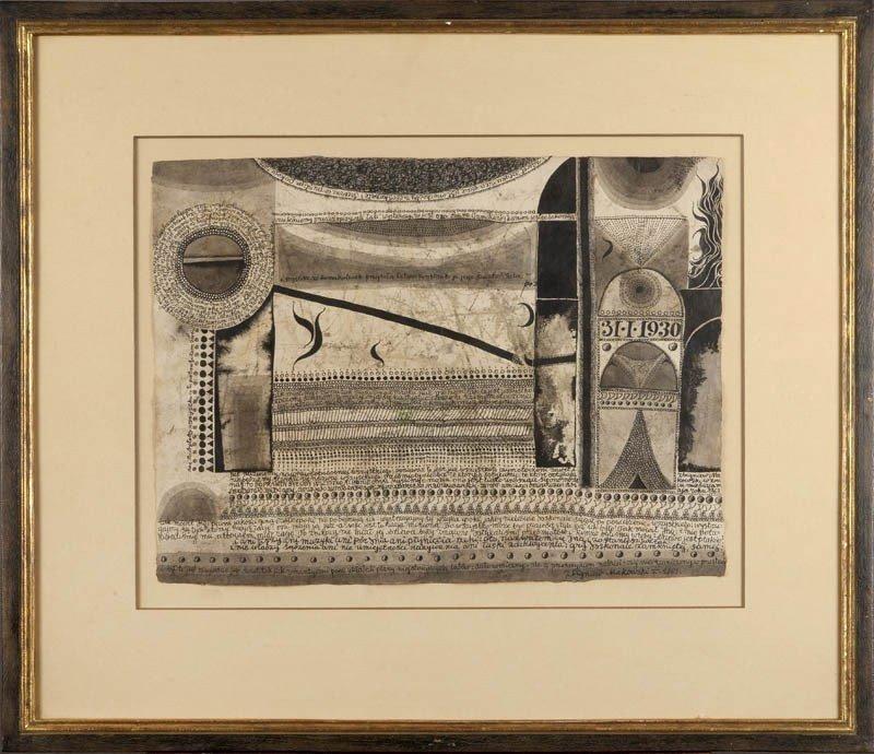 2: Zbigniew Makowski (b. 1930 , Warszawa) Kompozycja, 1