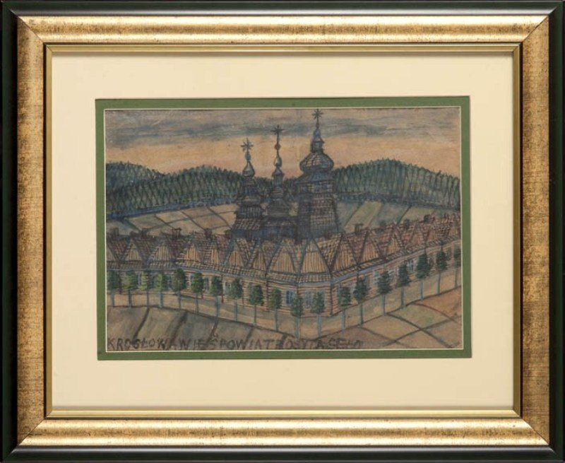 6: Nikifor Krynicki (1895 Krynica - 1968 Folusz) Cerkie