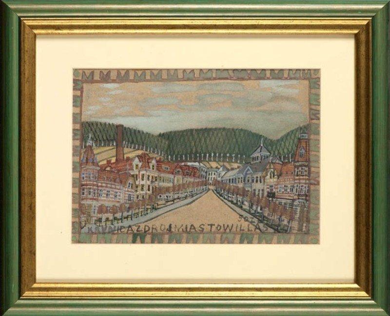 7: Nikifor Krynicki (1895 Krynica - 1968 Folusz) Krynic