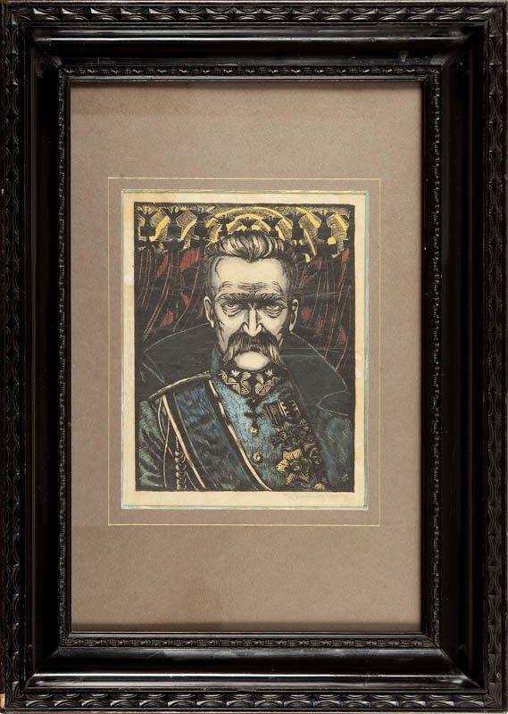 8: Wladyslaw Zurawski  (1888 – 1962) Portret Józefa Pil