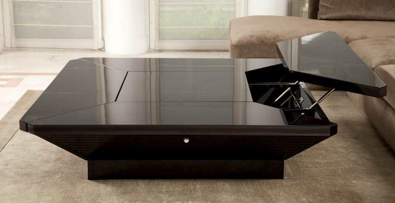 14:   Table wood, laminates, steel h. 36 cm, table: 150