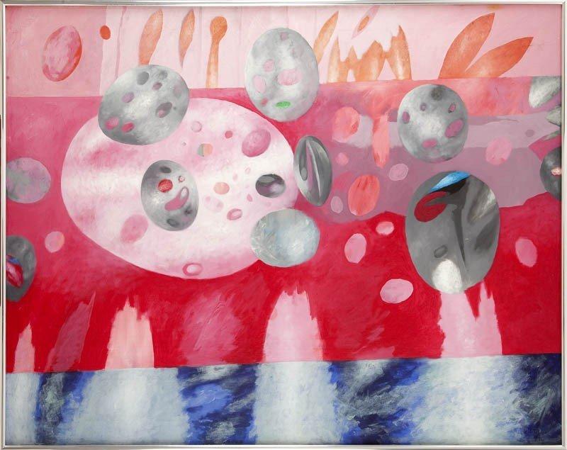 18: Stanislaw Tabisz (b. 1956 ) Upalne lato, 1994  oil/