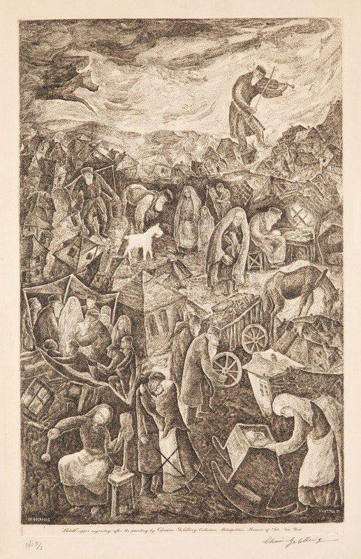 2: Chaim Goldberg (1917 Kazimierz Dolny - 2004 Boca Rat