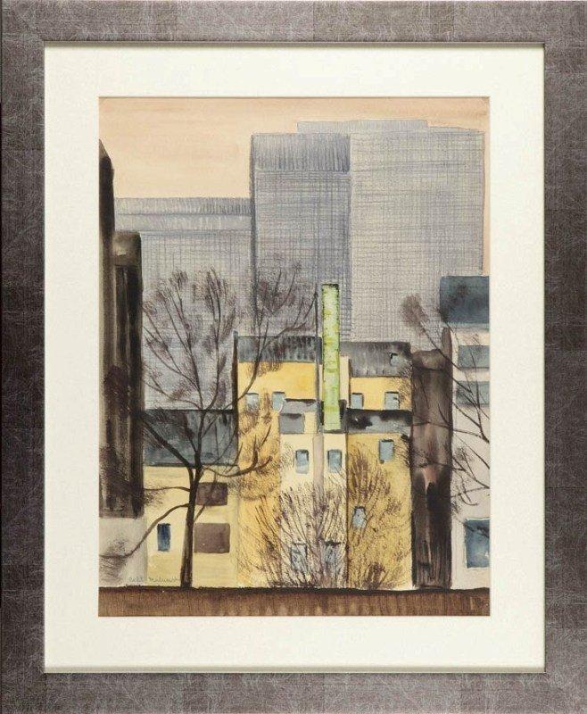 6: Rafal Malczewski (1892 Krakow - 1965 Montreal) Pejza
