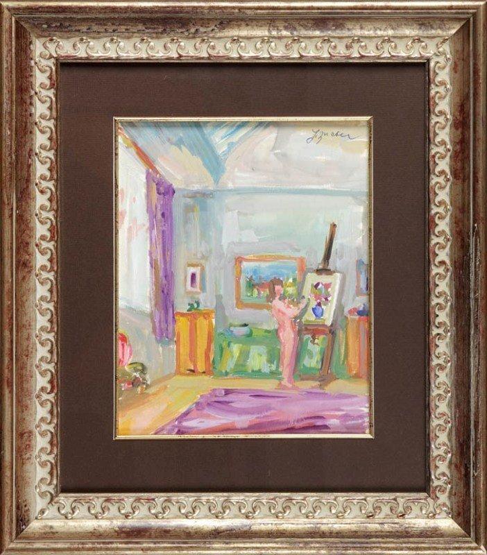 8: Jakub Zucker (1900 Radom - 1981 Nowy Jork) Naga mala