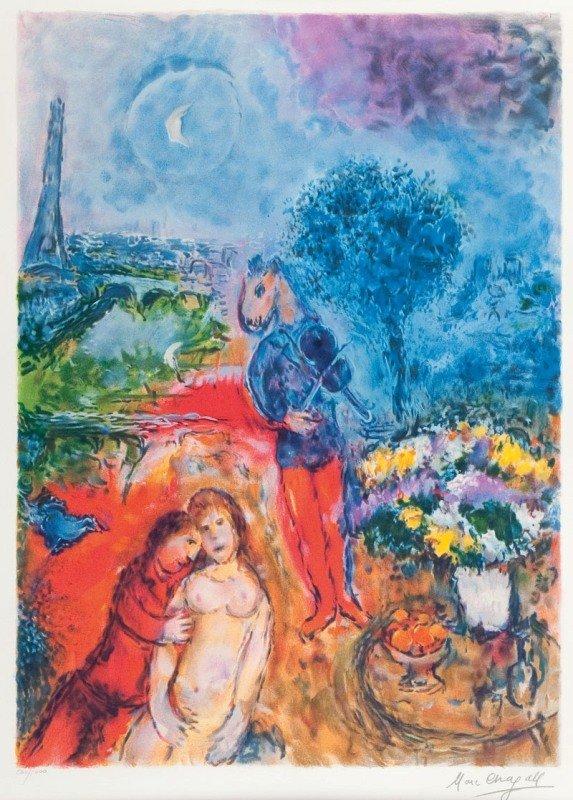 10: Marc Chagall (1887 Lozno near Witebsk - 1985 Saint-