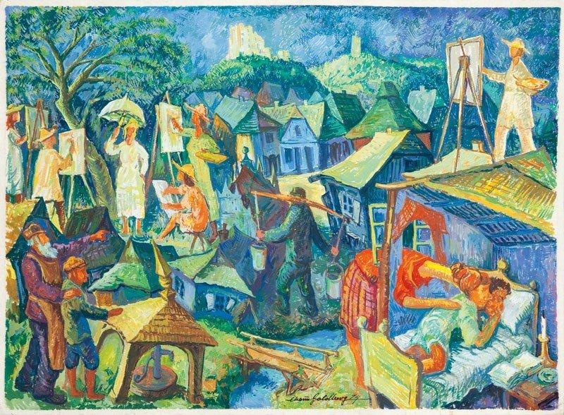 12: Chaim Goldberg (1917 Kazimierz Dolny - 2004 Boca Ra