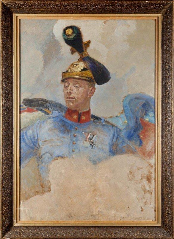 15: Jacek Malczewski (1854 Radom - 1929 Krakow) Portret