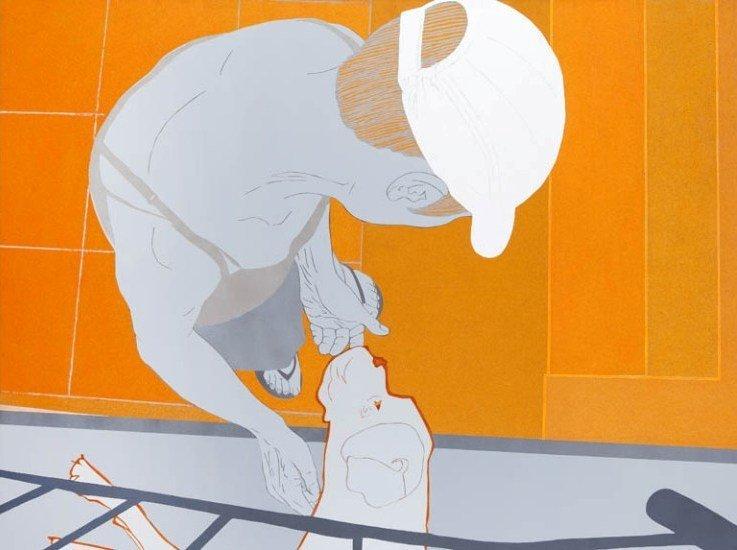 1: Artur Trojanowski (b. 1968 , Lodz) Czulosc, 2008  ac