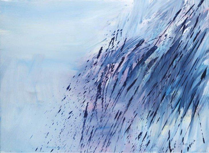 17: Szymon Ciechelski (b. 1979 , Lodz) Gest kobaltowy,