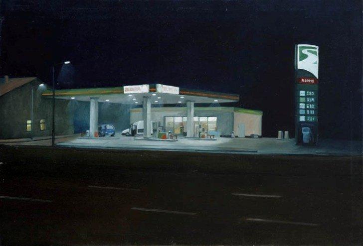 45: Paulina Siedlarz (b. 1984 , Nowy Sacz) Stacja benzy