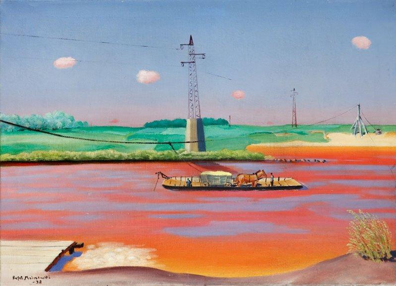 6: Rafal Malczewski  (1892 Krakow - 1965 Montreal) Bark