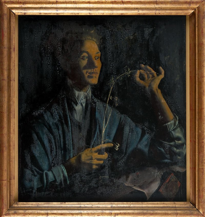 "10: Jan Gotard (1898 Warszawa - 1943 Warszawa) ""Portret"