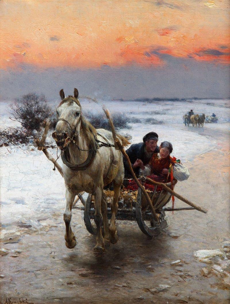 21: Alfred Wierusz - Kowalski (1849 Suwalki - 1915 Mona