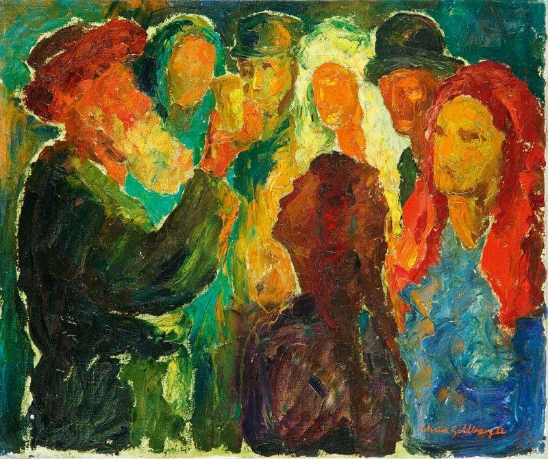 22: Chaim Goldberg  (1917 Kazimierz Dolny - 2004 Boca R