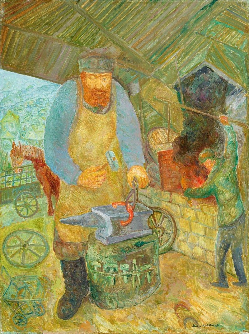 23: Chaim Goldberg  (1917 Kazimierz Dolny - 2004 Boca R