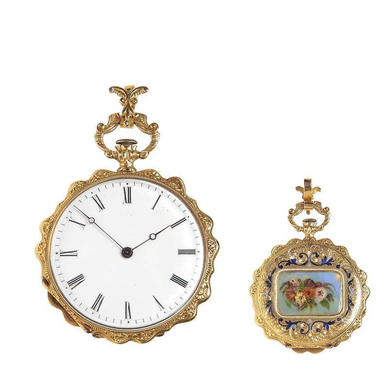 73: Pocket-sized watch Vacheron, Switzerland, 1830-1840