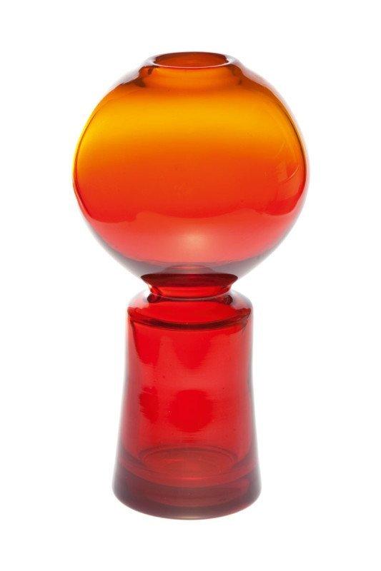 5: Zbigniew Horbowy (b. 1935 , Lanczyn) Vase Glassworks