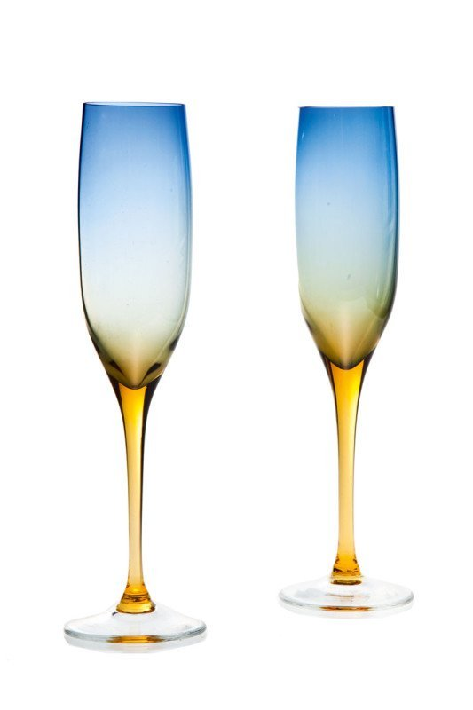 11: Zbigniew Horbowy (b. 1935 , Lanczyn) Pair of glasse