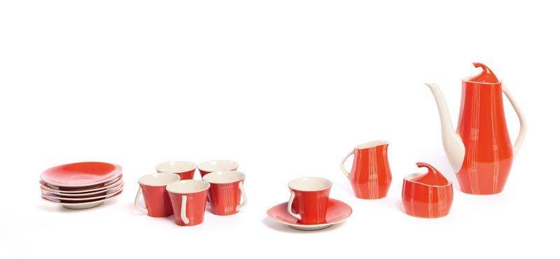 """19: Józef Wrzesien (1930-2007) Coffee set """"Iza """",  1959"""