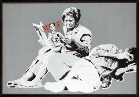 Karol Drzewiecki (b. 1987 , Konin) VOGUE, 2012  Acry