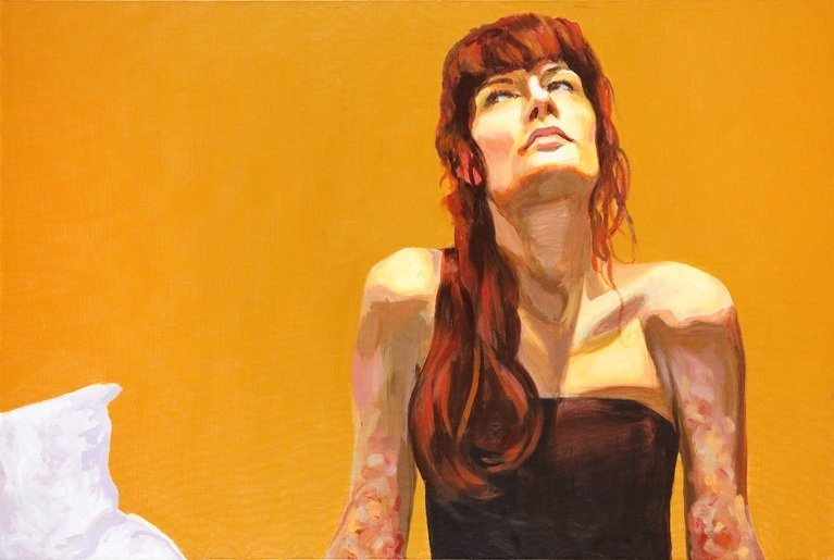 4: Robert Waleka Rose, 2007  acrylic/canvas, 80 x 120 c