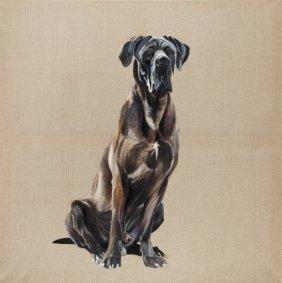 Piotr Szczur (b. 1987 , Jaslo) Dog Style I, 2011  O