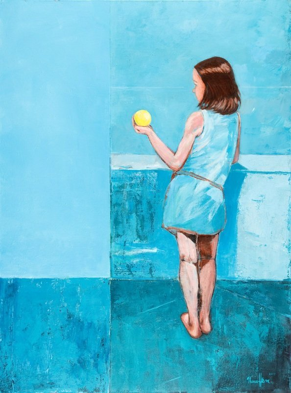 51: Ilona Herc (b. 1972 , Chorzow) Untitled, 2012  acry