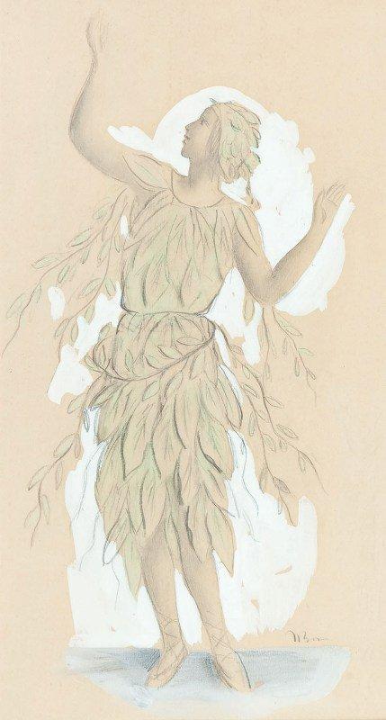 2: Wac?aw Borowski (1885 Lodz - 1954 Lodz) Costume desi
