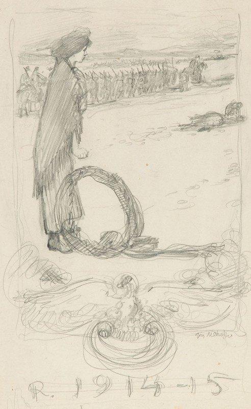 5: Józef Mehoffer (1869 Ropczyce - 1946 Wadowice) Woman