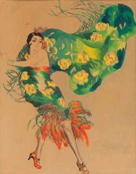 16: Stefan Norblin (1892 Warsaw - 1952 San Francisco) D