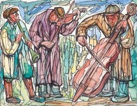 20: Chaim Goldberg (1917 Kazimierz Dolny - 2004 Boca Ra