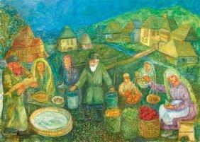 21: Chaim Goldberg (1917 Kazimierz Dolny - 2004 Boca Ra