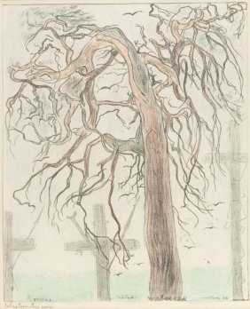 """24: Leopold Gottlieb (1897 Drohobycz - 1934 Paris) """"Cme"""