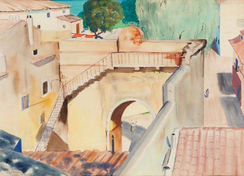 33: Rafa? Malczewski (1892 Cracow - 1965 Montreal) View