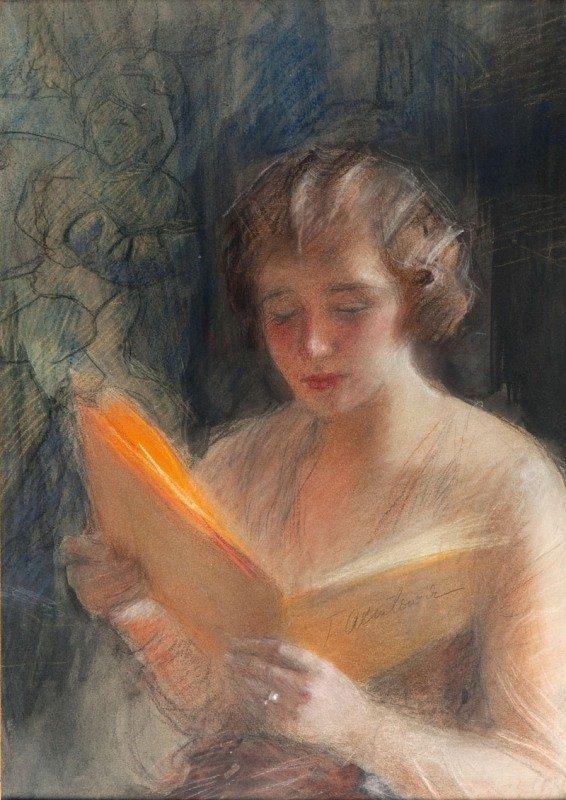 7: Teodor Axentowicz (1859 Braszow - 1938 Cracow) Woman