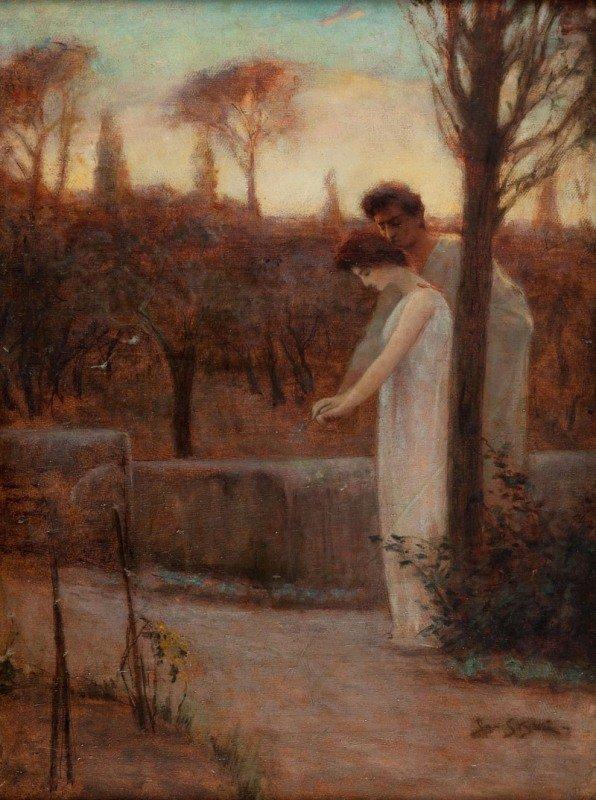 13: Jan Styka (1858 Lwow - 1925 Rome) Vinicjusz & Ligia
